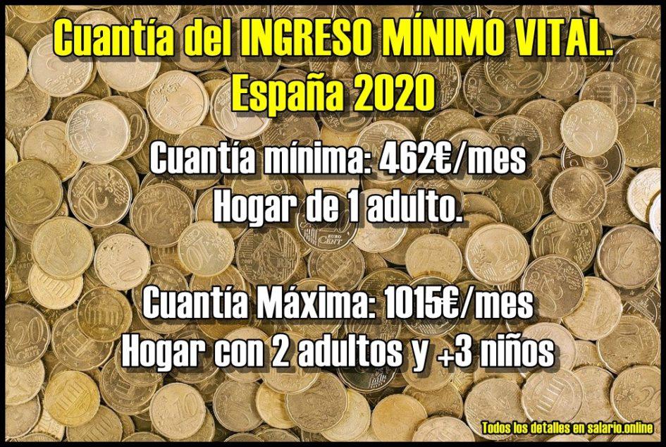 Cuantia-ingreso-minimo-vital-españa