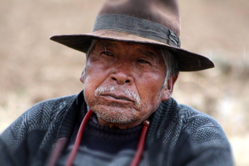 Anciano-Bolivia