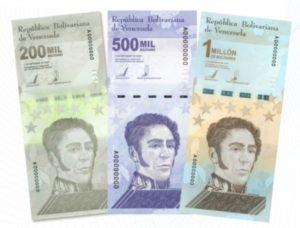 Lee más sobre el artículo Nuevos billetes en Venezuela: llega el billete del millón de bolívares