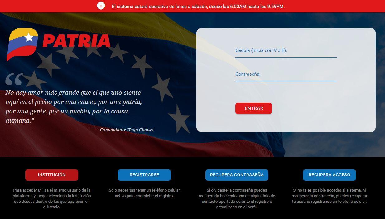 Patria-Venezuela-Web